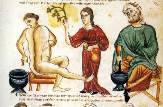 Dal Codex Vindobonensis 93 (Erbario dello Pseudo Apuleio)