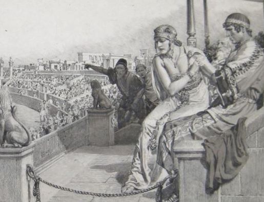 Ipazia secondo Fortunino Matania